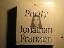 PURITY : A Novel by Jonathan Franzen Audio CD Audiobook 20 CDs 2015 Unabridged