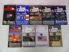 BIG Lot (9) TOM CLANCY Military Mystery Books BREAKING POINT SERIES State Of War