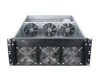 4U GPU Server Case for Cryptocurrency Mining - Ethereum, Monero, BTG