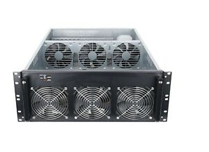 4U GPU Server Case for Cryptocurrency Mining - Ethereum, Monero, BTG