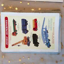 g1k ephemera vintage dinky toys supertoys advert no 971 mobile crane tanker