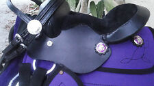 "Miniature Mini Horse PURPLE Kordura 8""  Western Saddle, Blanket & Bridle PACKAGE"