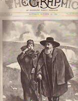 1892 Graphic October 15- Lord Tennyson Memorial Issue