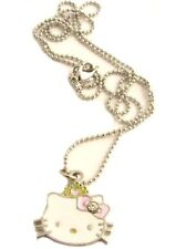 COLLANA girocollo pendente HELLO KITTY hallo Kitti icon moda donna ragazza toon