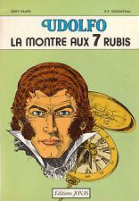 PAAPE. Udolfo.  La montre aux 7 rubis - Jonas 1980. Etat neuf