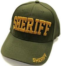 SHERIFF baseball cap, Puff Embroidery, Gift Idea