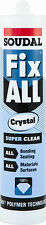 Soudal Fix All Crystal Clear Sealant & Adhesive