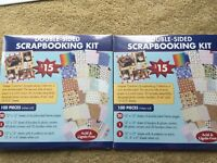 NEW LOT CREATIVE SCRAPBOOKING PAGE KIT SET SCRAPBOOK PRINTED PAPERS 200 PCS NWT