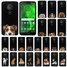 "For Motorola Moto G6 Play / Moto G6 Forge 5.7"" Dog Design Hard Case Cover"