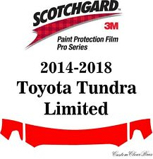 3M Scotchgard Paint Protection Pro Series 2016 2017 2018 Toyota Tundra Limited
