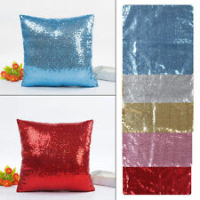 "Sequin Bedroom Decorative Cushions & Pillows 16x16"" Size"