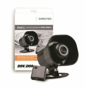 Directed DEI DS4SU Security Upgrade Kit for DS4/DS4+ w/ Siren & Shock Sensor NEW