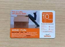 RICARICA TELEFONICA WIND - WIND FUN - FAI UN TUFFO NEI GIOCHI SMS 2007 - 10 EURO