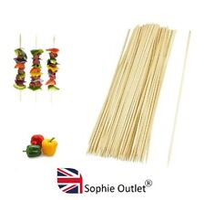 150x 30cm BAMBOO SKEWERS Wooden Kebab BBQ Sticks Fruit Party Chocolate Fountain