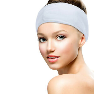 Facial Headband Fabric makeup - Ideal for Face Mask & Skincare - comes in pocket
