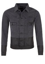 TIGER OF SWEDEN Two Black Denim Jacket - XL - RRP £230 - Stunning - BNWT