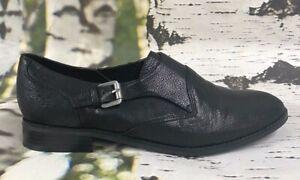 Women's Nine West NW7FENELEY Black  Wedge Dress Shoes Sz 8 M