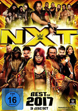 WWE The Best Of NXT 2017 3x DVD REGION CODE 2
