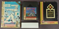 RBI Baseball  -  NES Nintendo Game Original BOX Complete CIB Manual Dust Cover