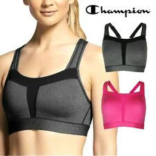Authentic Champion Women's Duo Dry High Support Active Wear Sports Bra Bralette