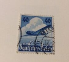 DR Germany 1936. 10th Anniversary  Of Lufthansa Fine Used