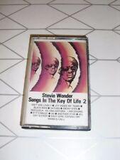 Stevie Wonder – Songs In The Key Of Life 2 Cassette audio Tape Album
