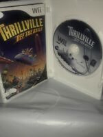 THRILLVILLE OFF THE RAILS (2007) Nintendo Wii [GAME & CASE] Complete Tested C3