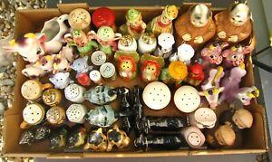 26 Pairs Of Vintage Salt & Pepper Shakers
