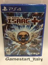 THE BINDING OF ISAAC AFTERBIRTH + SONY PS4 - NEW SEALED NUOVO REGION FREE NTSC-U