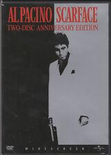 Scarface (DVD, 2003, 2-Disc Set, Widescreen Anniversary Edition) Al Pacino
