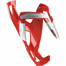 Elite Custom Race Plus Bottle Cage Red and White