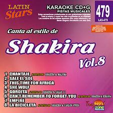 Karaoke Latin Stars 479 Shakira Vol. 8