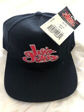 NWT Vintage Jnco Jeans One Size Fits All Fitted Hat Cap 1990s  Black 4d0c9fd42ef1