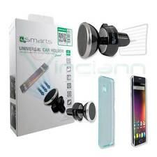 Kit 4in1 Supporto 4SMARTS bocchette auto per Huawei P9 P9 Lite Plus S4M