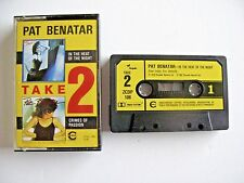 Pat Benatar In The Heat of The Night & Crimes of Passion - Cassette ZCDP108 RARE