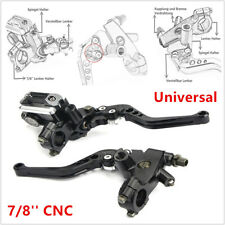 "7/8"" Universal Motorcycle Scooter CNC Front Brake Clutch Master Cylinder Lever"