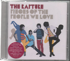 THE RAPTURE - PIECES OF THE PEOPLE WE LOVE - CD ALBUM - 2006 - PROMO - EXCELL.