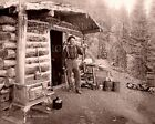 Pike's Peak gold prospector CO mountain cabin camp stove 5x7 photo or request CD photo