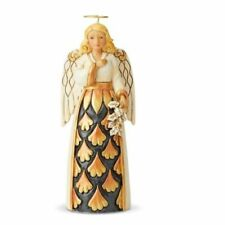 Jim Shore 2019 BLACK & GOLD PINT SIZED ANGEL-GENEROSITY OF SPIRIT 6004201