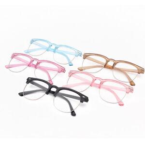 Kids Anti-blue Light Glasses Children Semi-Rimless Goggle Anti Radiation Glasses