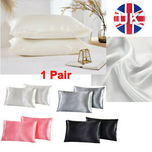 Soft Mulberry Silk Pillowcase Satin Pillow Cases Cushion Covers Home Decor Bed