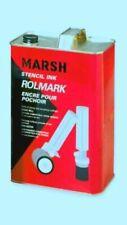 MARSH Rolmark (Black)STENCIL INK 1 Quart