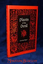 PLANTS OF THE DEVIL by Corinne Boyer, Limited Edition, Satanic, Witchcraft,