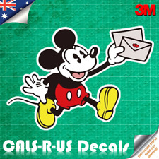 Mickey Mouse Peek Love Letter Minnie Decal Sticker Wall Baby Nursery Car 3M Film