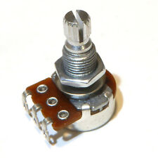 Guitar mini potentiometer pot choice of A250k B250K A500B B500K 16mm volume tone