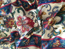 """Waverly Fabric,Textile Augusta Floral 100% Club Classic Cotton 54"""" Wide"""