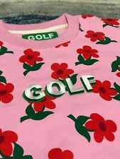 "Golf Wang ""Find Some Time"" PINK Sweatshirt Crewneck"
