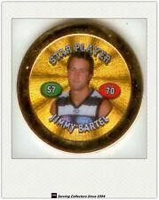 2008 Topps AFL Poker Chipz Premium Gold Star Chipz Jimmy Bartel (Geelong)