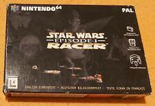 Nintendo 64 Spiel - Star Wars Racer N64 (mit OVP)