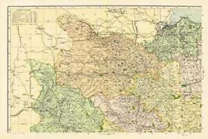 Yorkshire-North West(1900)Cassini Historical Map by Cassini Publi.End Of Stock!